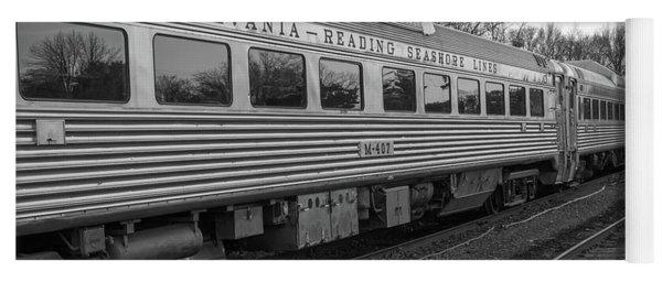 Pennsylvania Reading Seashore Lines Train Yoga Mat