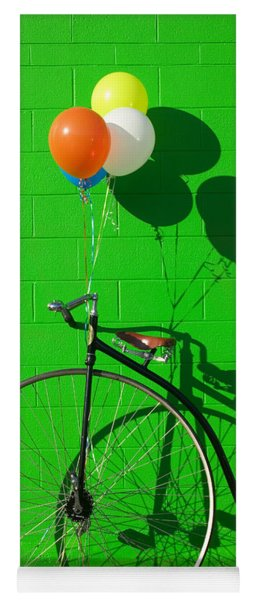 Penny Farthing Bike Yoga Mat