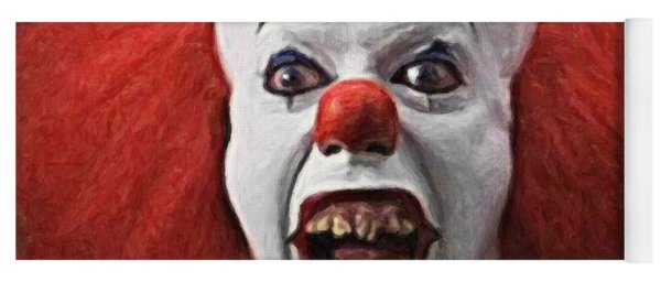 Pennywise The Clown Yoga Mat