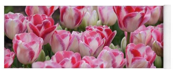 Peppermint Tulip Field IIi Yoga Mat