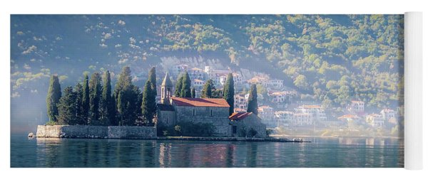Perast Church Yoga Mat