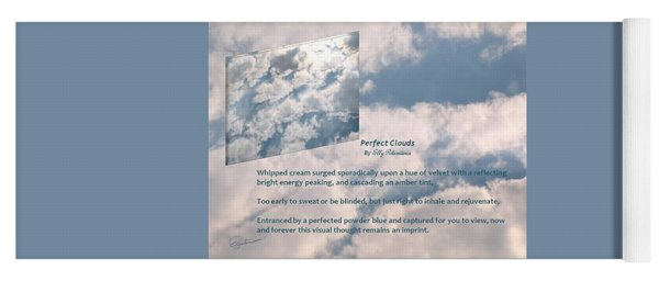Perfect Clouds Yoga Mat