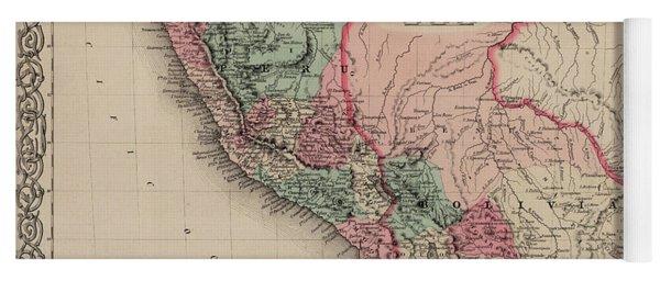 Peru And Bolivia Yoga Mat