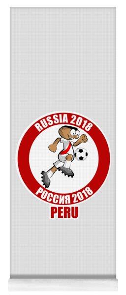 Peru In The Soccer World Cup Russia 2018 Yoga Mat