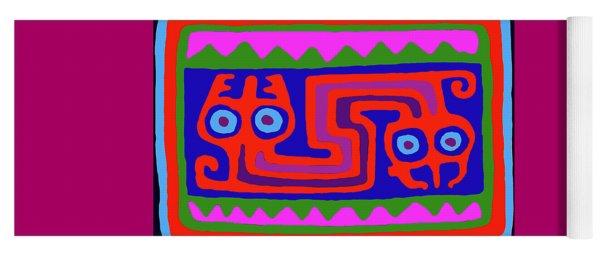 Peruvian Inca Serpent Yoga Mat