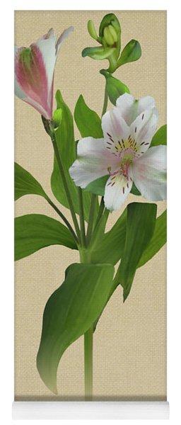Peruvian Lily Botanical Yoga Mat