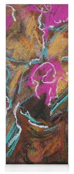 Petals Of Pink Yoga Mat