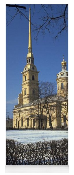Peter And Paul Cathedral Yoga Mat