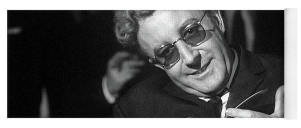 Peter Sellers As Dr. Strangelove Number One Color Added 2016 Yoga Mat