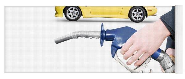 Petrol Bowser Pump Yoga Mat