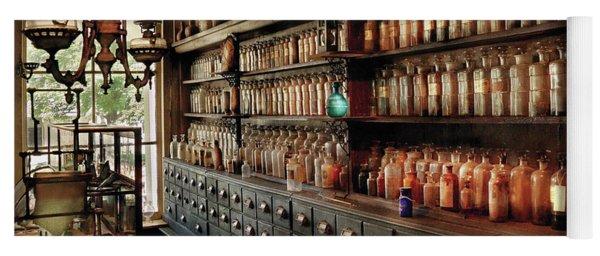 Pharmacy - So Many Drawers And Bottles Yoga Mat