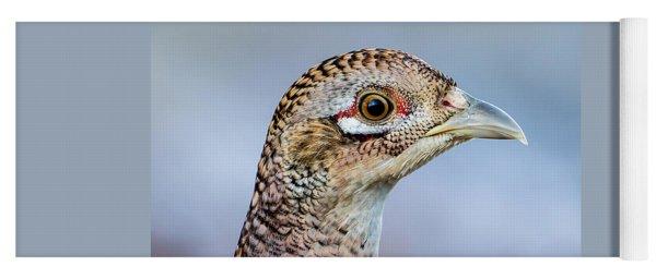 Pheasant Hen Yoga Mat