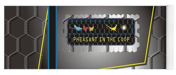 Pheasant In The Coop Yoga Mat