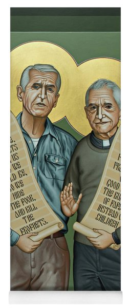 Philip And Daniel Berrigan Yoga Mat