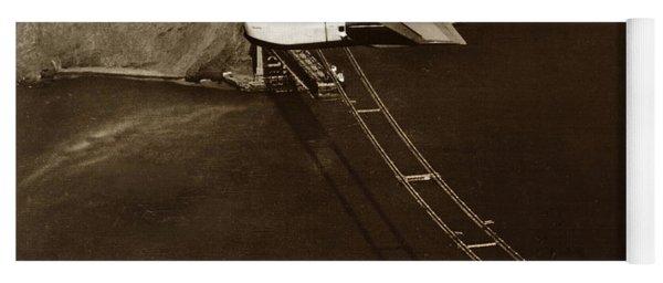 Philippine Clipper A Pan Am Clipper Over The Golden Gate Bridge  1935 Yoga Mat