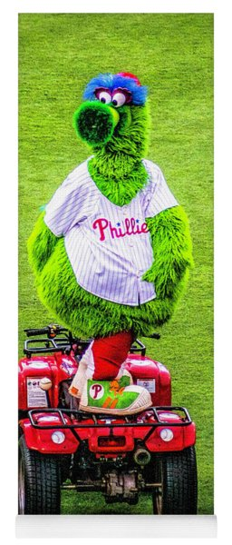 Phillie Phanatic Scooter Yoga Mat