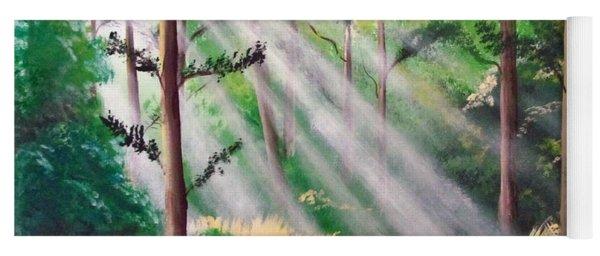 Phosphorescent Forest Yoga Mat