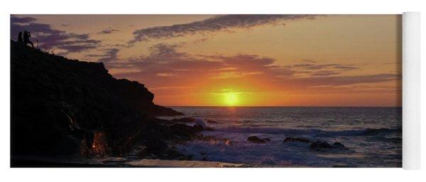 Photographer's Sunset Yoga Mat