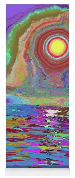 Photosynthesized In Vibrant Color V3 Yoga Mat