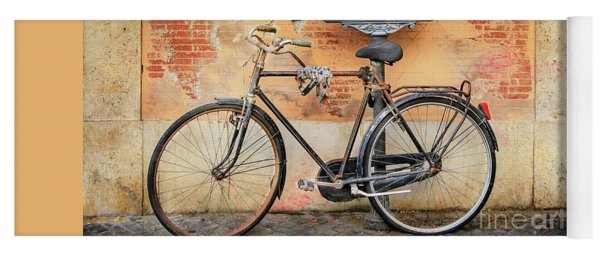 Piazza Navona Bicycle Yoga Mat
