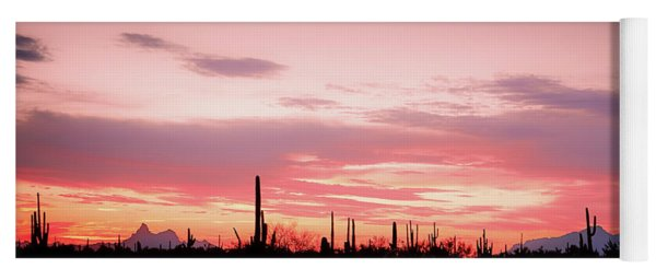 Picacho Sunset Yoga Mat