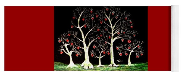The Valentine Forest Yoga Mat