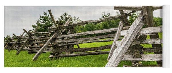 Picket Fence Yoga Mat