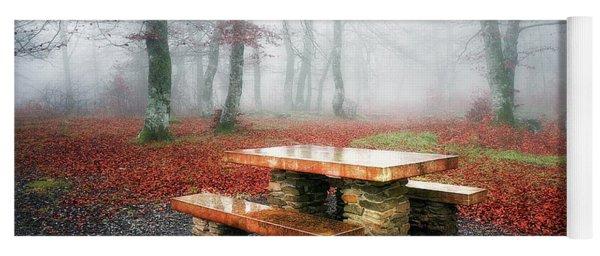 Picnic Of Fog Yoga Mat