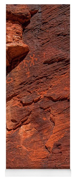 Pictures In The Rocks Yoga Mat