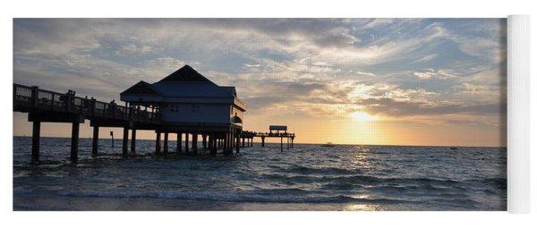 Pier 60 At Clearwater Beach Florida Yoga Mat