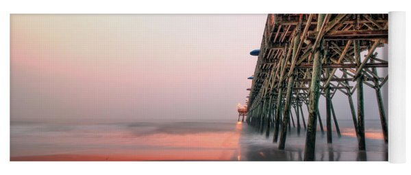 Pier And Surf Yoga Mat