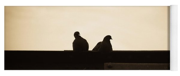 Pigeon And Steel Yoga Mat