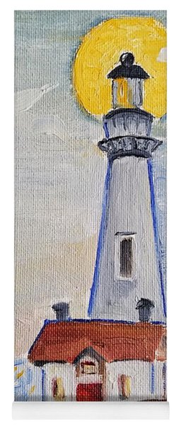 Pigeon Point Lighthouse  Yoga Mat