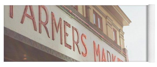 Pike Place Farmers Market Yoga Mat
