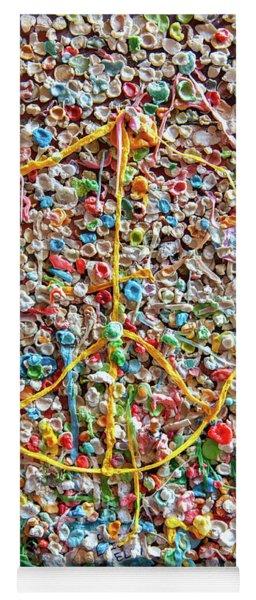 Pike Place Market Gum Wall Yoga Mat