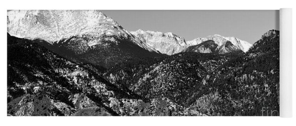 Pikes Peak And Incline 36 By 18 Yoga Mat