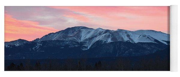 Sunrise Pikes Peak Co Yoga Mat