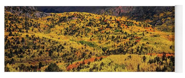 Pikes Peak Autumn Yoga Mat