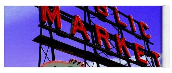 Pike's Place Market Yoga Mat