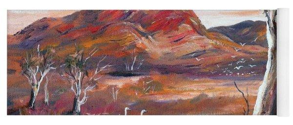 Pilbara, Outback, Western Australia, Yoga Mat