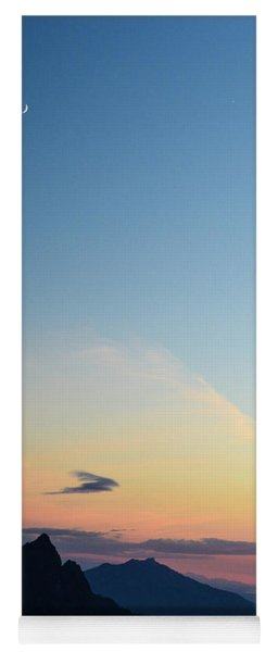 Pilchuck Sunset Yoga Mat