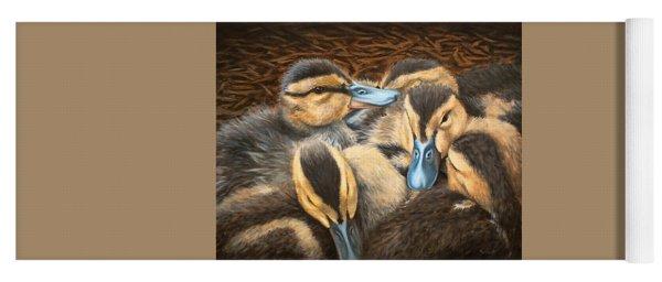 Pile O' Ducklings Yoga Mat