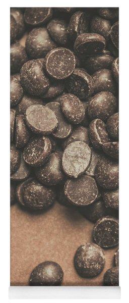 Pile Of Chocolate Chip Chunks Yoga Mat