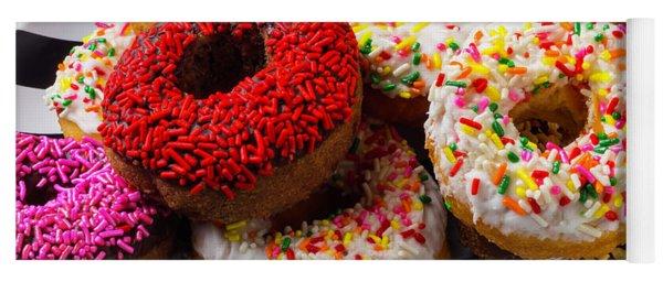 Pile Of Donuts Yoga Mat