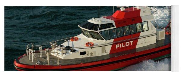 Pilot Boat Wellington Yoga Mat