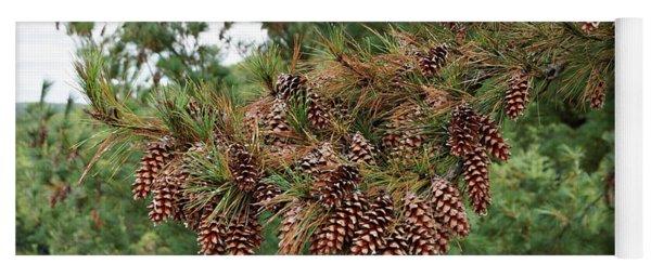 Pine Cones Yoga Mat
