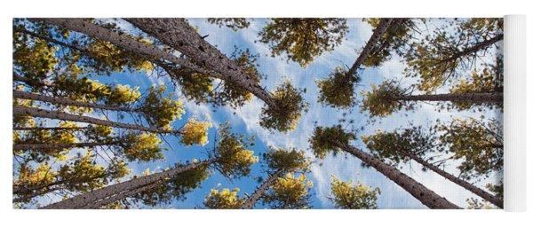 Pine Tree Vertigo Yoga Mat