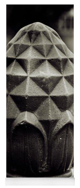 Pineapple, Oak Alley, Vacherie, Louisiana Yoga Mat
