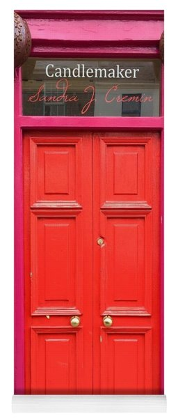 Pink And Orange Door Ireland Yoga Mat
