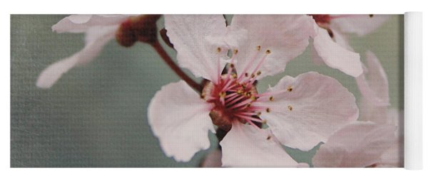 Pink Blossoms 2- Art By Linda Woods Yoga Mat